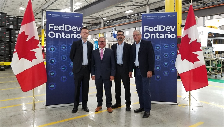 Vaughan auto parts maker lands $2.5M from FedDev, creates 50 jobs
