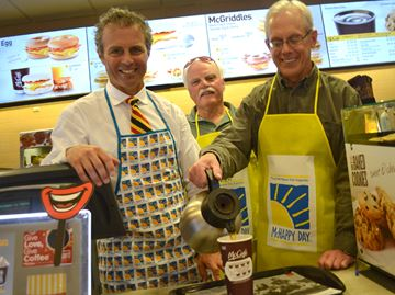 McHappy Day supports Big Brothers in Collingwood, Wasaga Beach