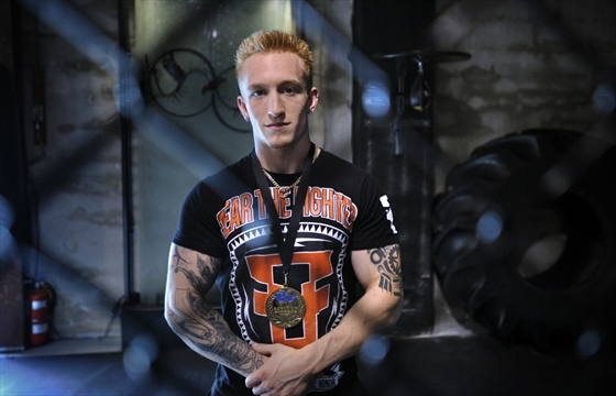 Rib Injury Didn't Keep Kitchener Fighter Down