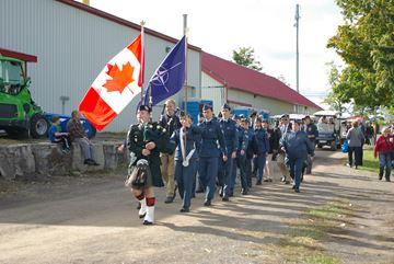 Rockton military tribute