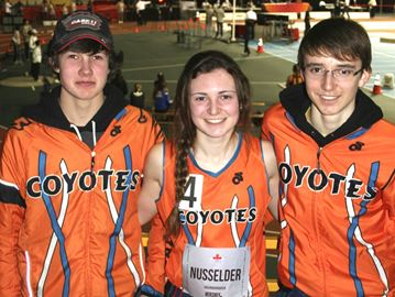 Meaford runners battle hard at national track meet