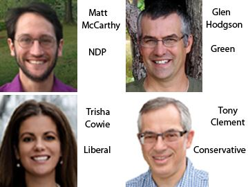 FEDERAL ELECTION 2015 CANDIDATES