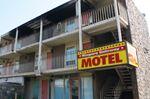 Fire guts Falls motel room