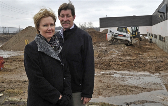 Former factory to be converted into private recycling for Randy stewart builder