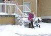 Burlington gets a spring wallop of snow