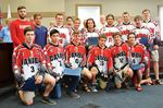 Penetanguishene honours its world junior ball hockey champions