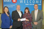 BMO donation to Northumberland Hills Hospital Foundation