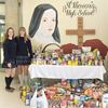 Food drive a whopping success at St. Theresa's Catholic High School in Midland