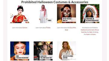 Prohibited costumes