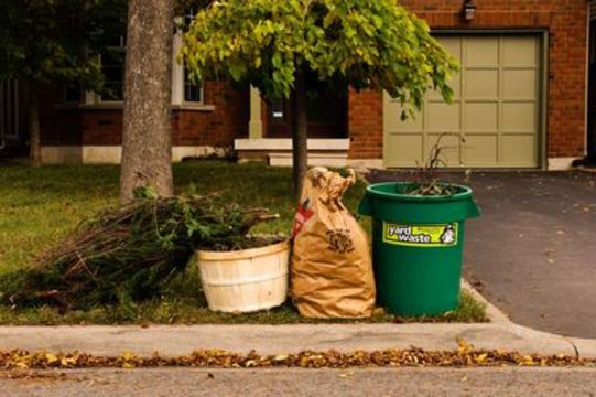 weekly yard waste collection resumes
