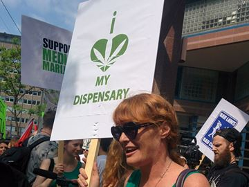 Marijuana dispensary raids