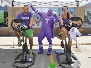 Pedalling for Sick Kids