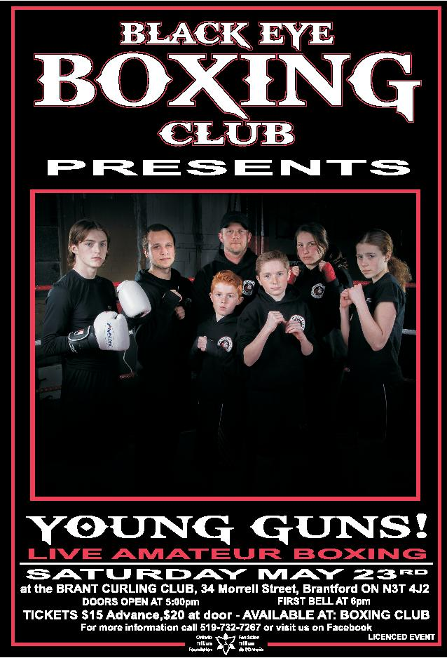 Young and old step into the ring for brantford club for Door 84 youth club