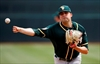 Triggs' strong outing helps his chance to start for A's-Image1