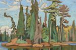 Painting by Group of Seven artist Lawren Harris up for auction