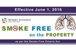 SMOKE-FREE HOSPITAL GROUNDS JUNE 1