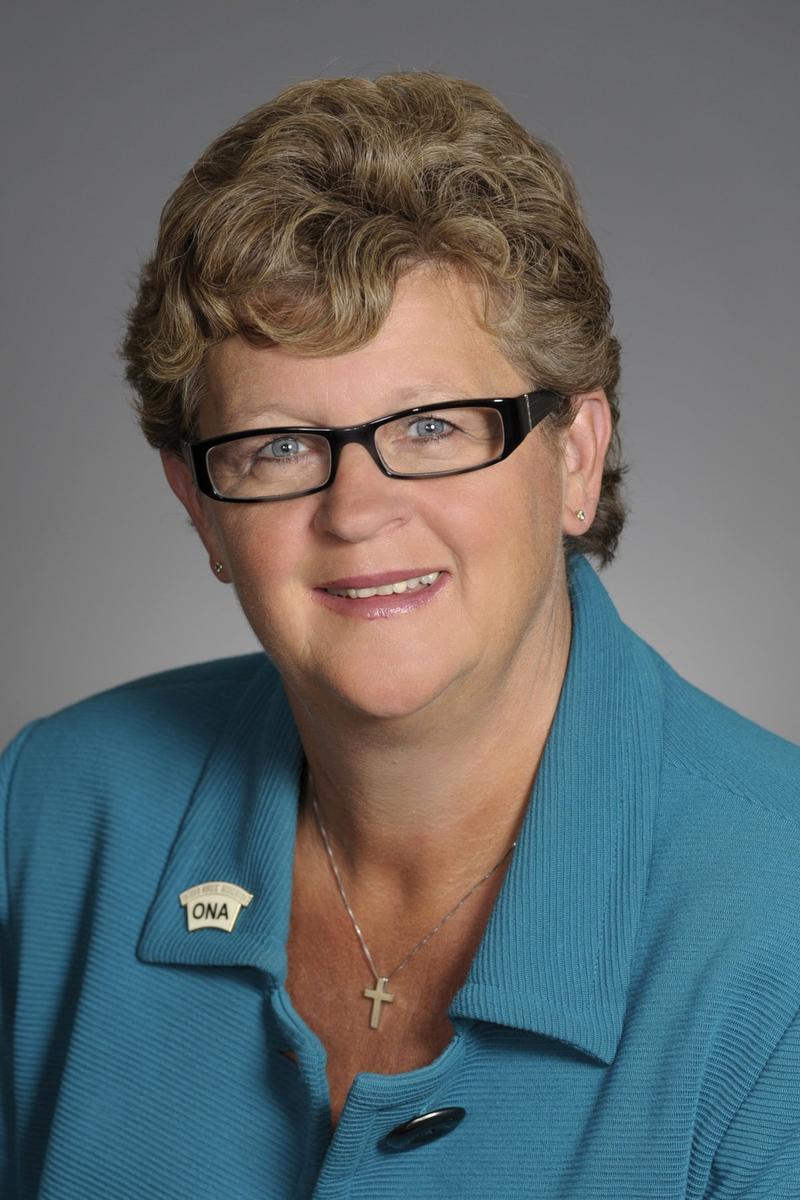 Linda Haslam-Stroud former longtime president of the Ontario Nurses' Association