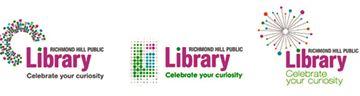 Richmond Hill library logo choices