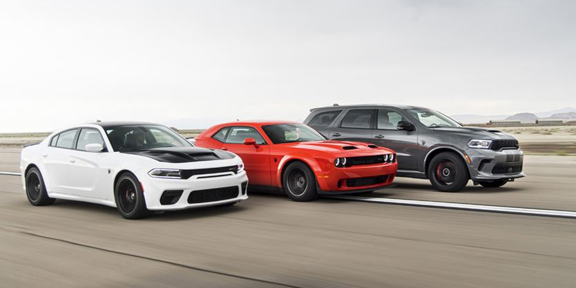 Dodge SRT Piles On The Power