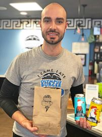 Giorgos Kallonakis, the owner of Olympus Burger in Port Hope, has expanded the restauraunt's takeout and delivery of food and alcohol to include the Cobourg area due to COVID-19 restrictions.