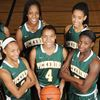 Pickering girls' basketball