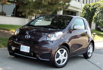 Scion microcar's personality is larger than it looks