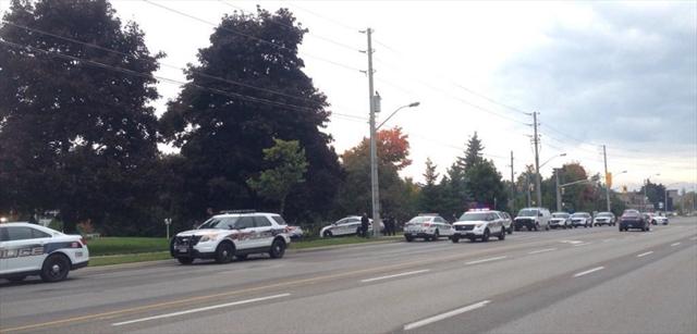 Police on Gordon Street