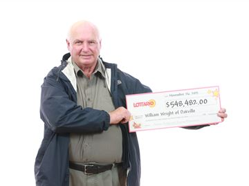 Oakville resident wins more than $548,000 through lottery