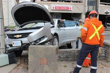 Car vs. curb