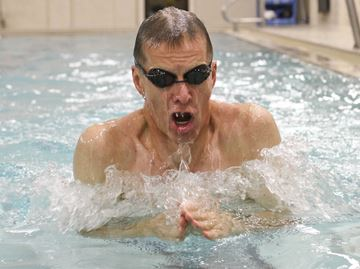 Burington's Freeman takes breaststroke gold at world masters swim championships