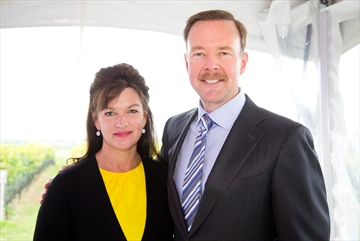 Anita and Joe Robertson, shown in this September 2014 photo, died in a July 30 plane crash.