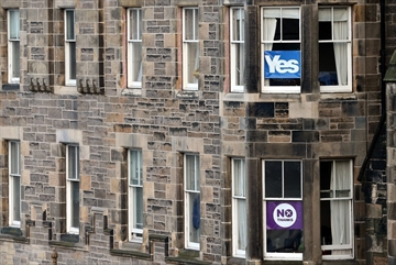 Early results suggest Scots reject independence-Image1
