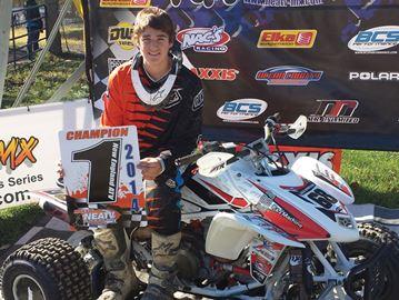 Alliston teen wins ATV racing championship