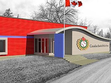Proposed new home for the Canadian Baseball Hall of Fame and Museum