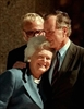 George H.W. Bush improving, wife staying night in hospital-Image1