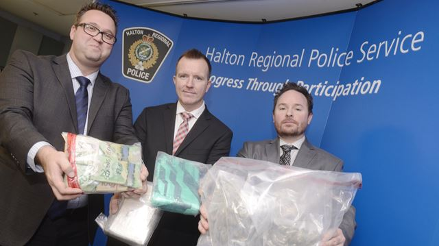 Seven Halton residents among 15 people charged in drug sweep