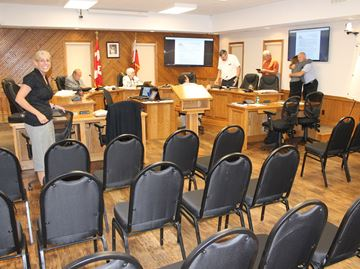 Meaford debuts re-designed council chambers