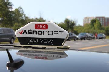 Taxi vandalism