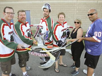 Burlington team participates in Road Hockey to Conquer Cancer in Toronto