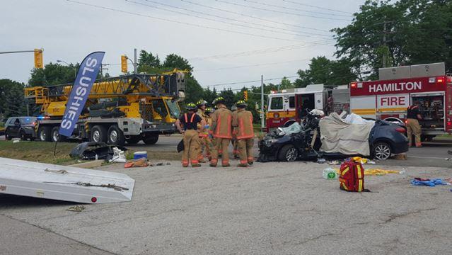 Millgrove collision