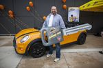 Orillia resident wins car