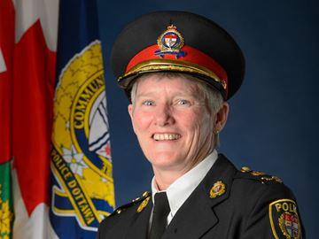 Deputy police chief Jill Skinner