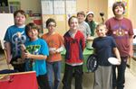 Bayview students serve soup for Midland charities