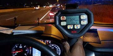 A Brampton man was charged after he was clocked driving 205 km/h on Hwy. 403.