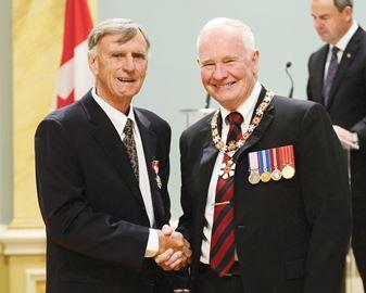 Hugessen receives Order of Canada