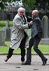 Vickers grabs protester at Dublin ceremony-Image1