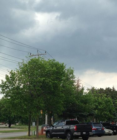 Severe thunderstorm watch issued for Simcoe County