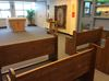 Pews for St. Peter's chapel