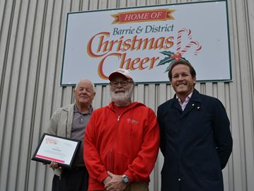 Christmas Cheer kicks off season with permanent home in Barrie