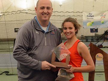 Oakville tennis player leads Boston University to Patriot League title